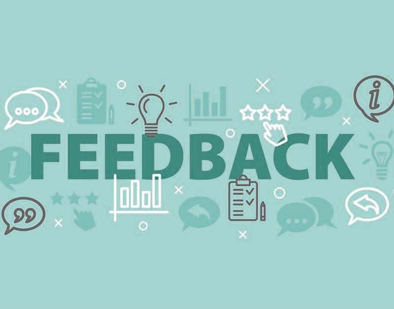 how to give effective feedback